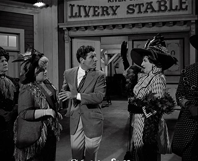Hermione Gingold and Robert Preston in The Music Man (1962)