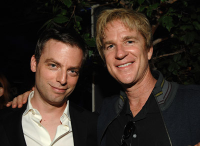 Matthew Modine and Justin Kirk at an event for Weeds (2005)