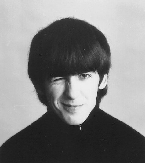 George Harrison in A Hard Day's Night (1964)
