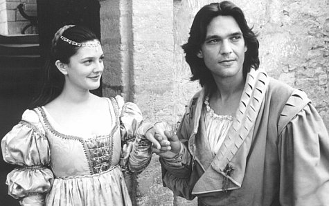 Drew Barrymore and Dougray Scott in Ever After: A Cinderella Story (1998)