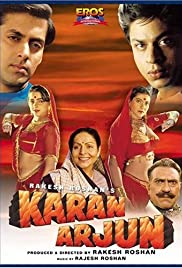 Karan Arjun (1995) Poster - Movie Forum, Cast, Reviews