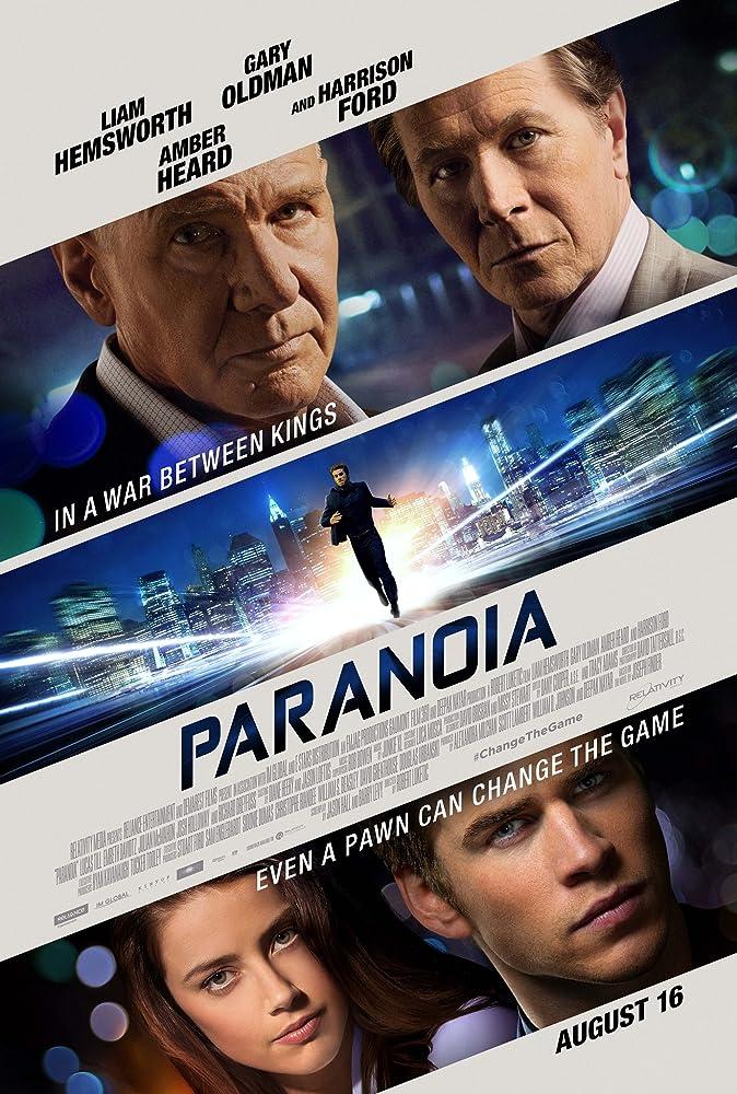 Paranoia (2013) Tagalog Dubbed