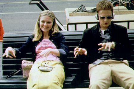 Kirsten Dunst and Ben Foster in Get Over It (2001)