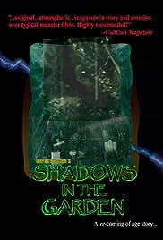 Shadows in the Garden Poster