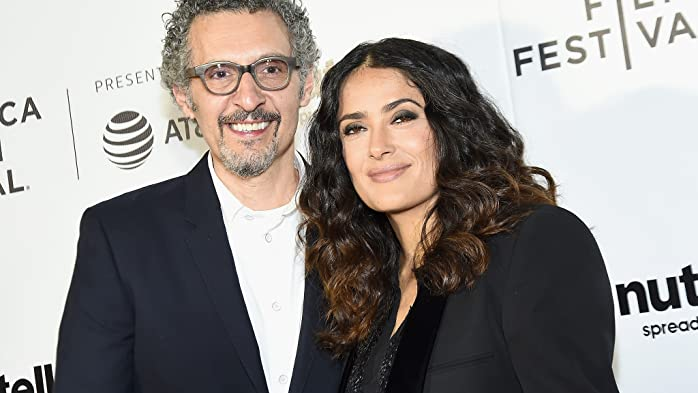 Salma Hayek and John Turturro