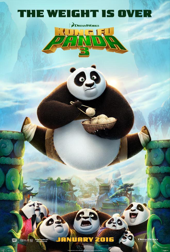 Kung Fu Panda 3 (2016)  Cover