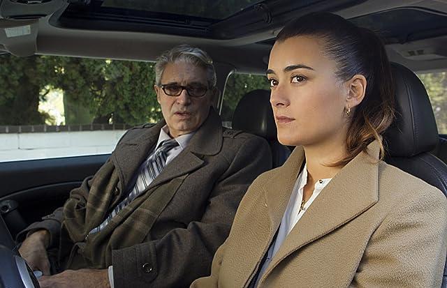 Michael Nouri and Cote de Pablo in NCIS (2003)