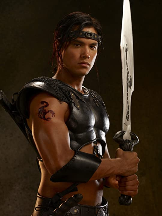 Michael Copon in The Scorpion King: Rise of a Warrior (2008)