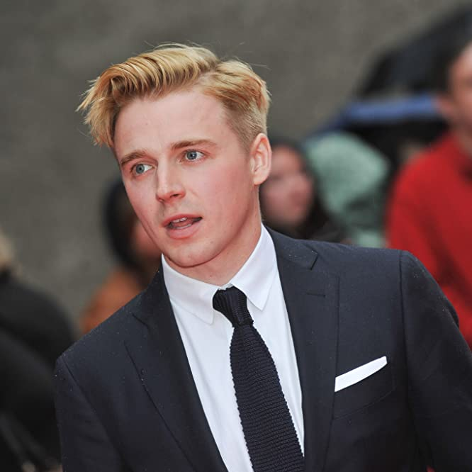 Jack Lowden at an event for Tommy's Honour (2016)