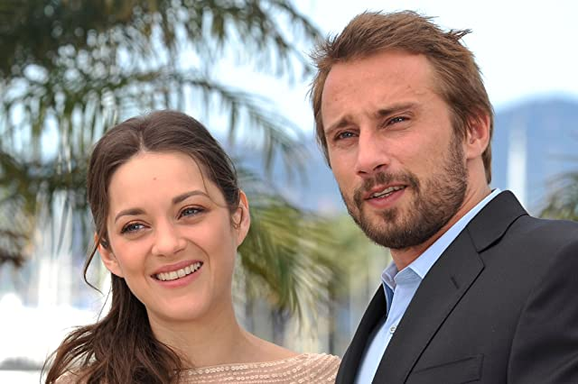 Marion Cotillard and Matthias Schoenaerts at an event for Rust and Bone (2012)