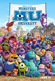 Monsters University (2013) Poster - Movie Forum, Cast, Reviews