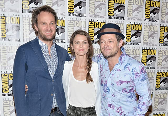 Keri Russell, Jason Clarke, and Andy Serkis at Dawn of the Planet of the Apes (2014)