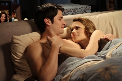 James Lafferty and Bethany Joy Lenz in One Tree Hill (2003)