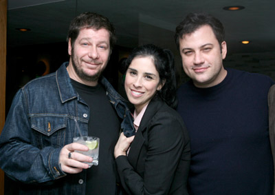 Jimmy Kimmel, Jeffrey Ross, and Sarah Silverman