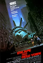 Escape from New York (1981) Poster - Movie Forum, Cast, Reviews
