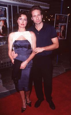 David Duchovny and Téa Leoni at Playing God (1997)