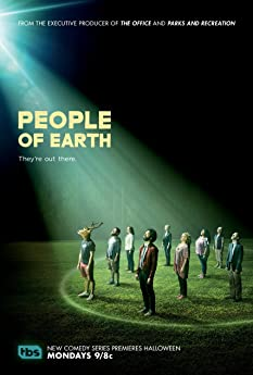Ana Gasteyer, Nancy Lenehan, Drew Nelson, Brian Huskey, Wyatt Cenac, Tracee Chimo, Alice Wetterlund, Luka Jones, and Da'Vine Joy Randolph in People of Earth (2016)