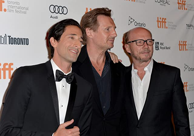 Liam Neeson, Adrien Brody, and Paul Haggis at Third Person (2013)