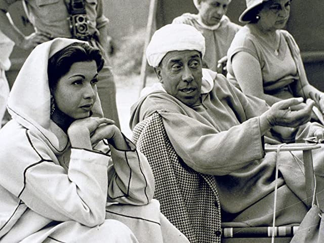 Fernandel and Samia Gamal in Ali Baba and the Forty Thieves (1954)