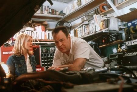 Dan Aykroyd and Britney Spears in Crossroads (2002)