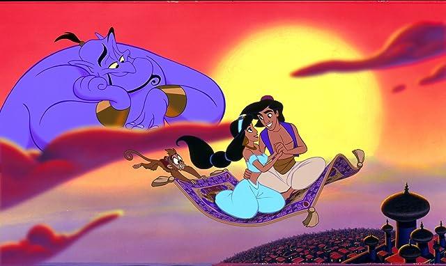 Corey Burton and Douglas Seale in Aladdin (1992)
