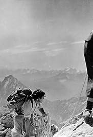 Im Schatten des Berges Poster