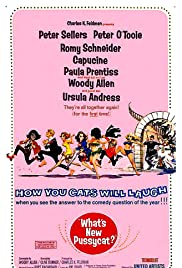 What's New Pussycat (1965) Poster - Movie Forum, Cast, Reviews