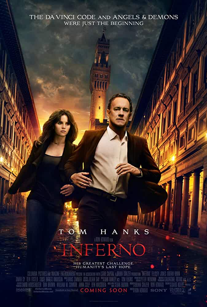 Poster Inferno (2016) Full Hindi Movie Download HD Dual Audio 720p