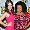 Yvette Nicole Brown and Alison Brie at an event for Community (2009)