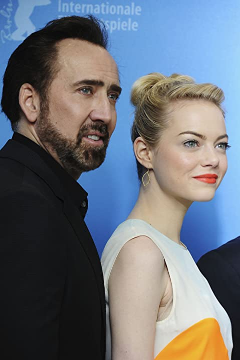 Nicolas Cage and Emma Stone at The Croods (2013)