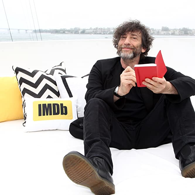 Neil Gaiman at an event for IMDb at San Diego Comic-Con (2016)