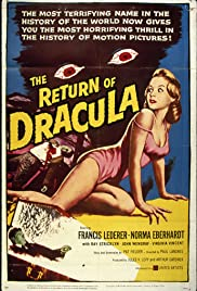 The Return of Dracula Poster