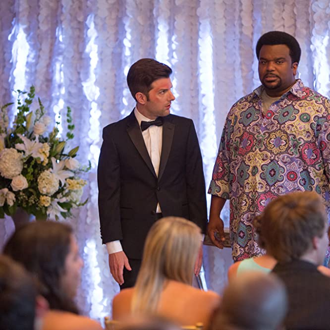 Adam Scott and Craig Robinson in Hot Tub Time Machine 2 (2015)