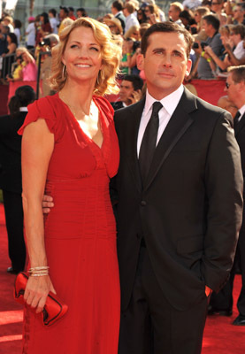 Steve Carell and Nancy Carell at The 61st Primetime Emmy Awards (2009)