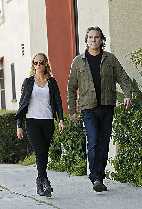 Kim Raver and John Corbett in NCIS: Los Angeles (2009)