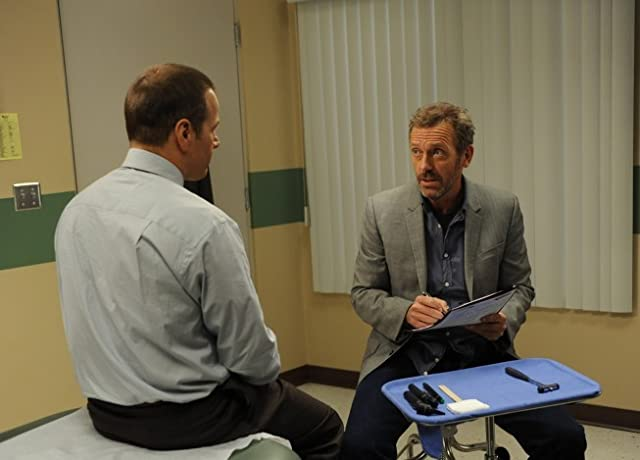 James Le Gros and Hugh Laurie in House M.D. (2004)