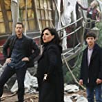 Lana Parrilla, Jared Gilmore, and Josh Dallas in Once Upon a Time (2011)