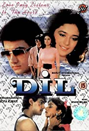 Dil (1990) Poster - Movie Forum, Cast, Reviews