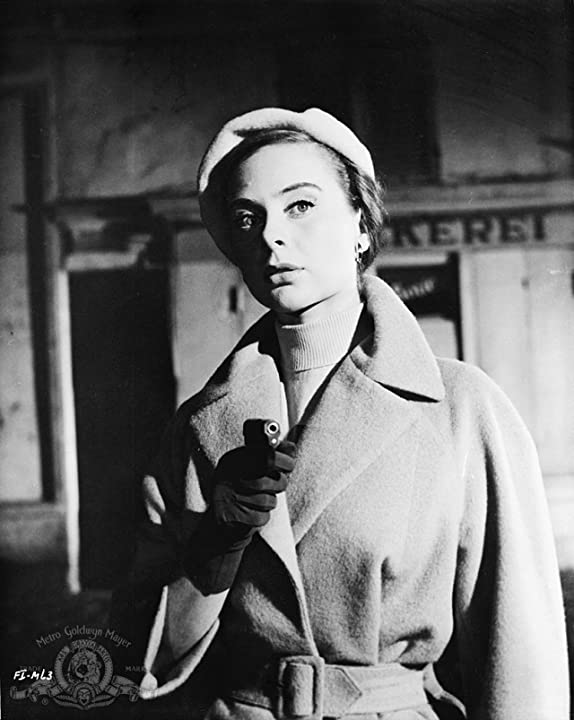 Geneviève Page in Foreign Intrigue (1956)