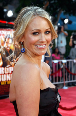 Christine Taylor at an event for Tropic Thunder (2008)