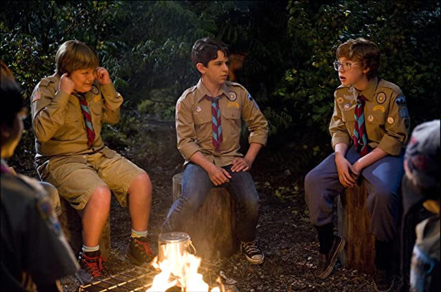 Grayson Russell, Zachary Gordon, and Robert Capron in Diary of a Wimpy Kid: Dog Days (2012)