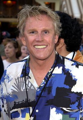 Gary Busey at Pirates of the Caribbean: The Curse of the Black Pearl (2003)