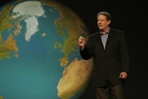 Al Gore in An Inconvenient Truth (2006)