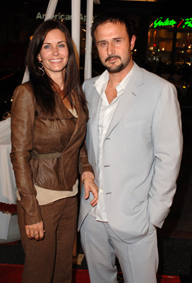 David Arquette and Courteney Cox at Kiss Kiss Bang Bang (2005)