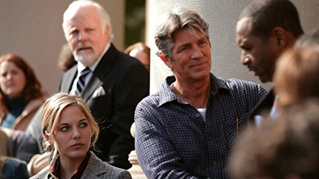 A climactic scene in Deadline starring Eric Roberts and featuring Lauren Jenkins, David Dwyer and Darryl Van Leer.