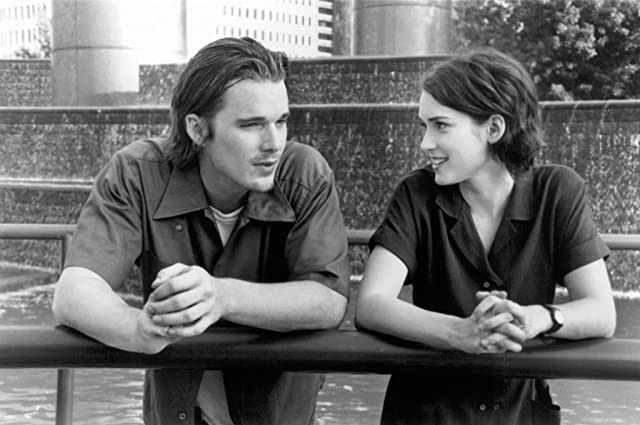 Ethan Hawke and Winona Ryder in Reality Bites (1994)