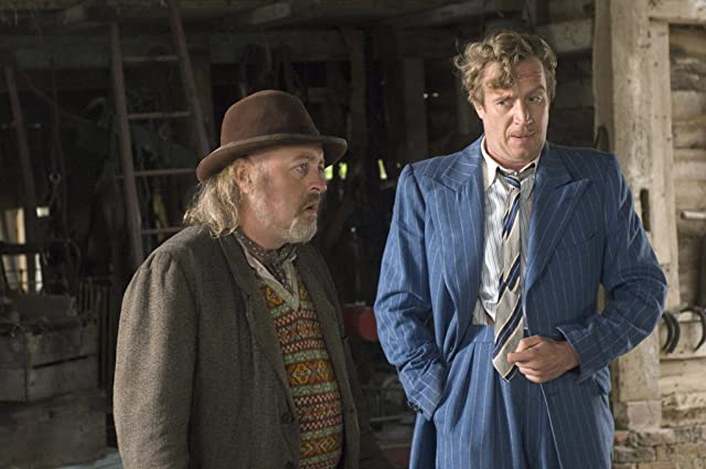 Bill Bailey and Rhys Ifans in Nanny McPhee Returns (2010)