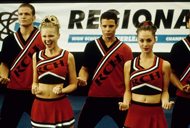 Kirsten Dunst, Eliza Dushku, Huntley Ritter, and Nathan West in Bring It On (2000)