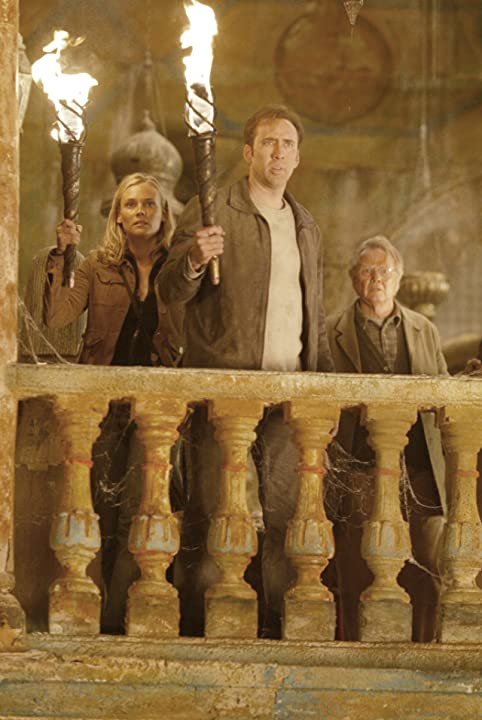 Nicolas Cage, Jon Voight, and Diane Kruger in National Treasure (2004)