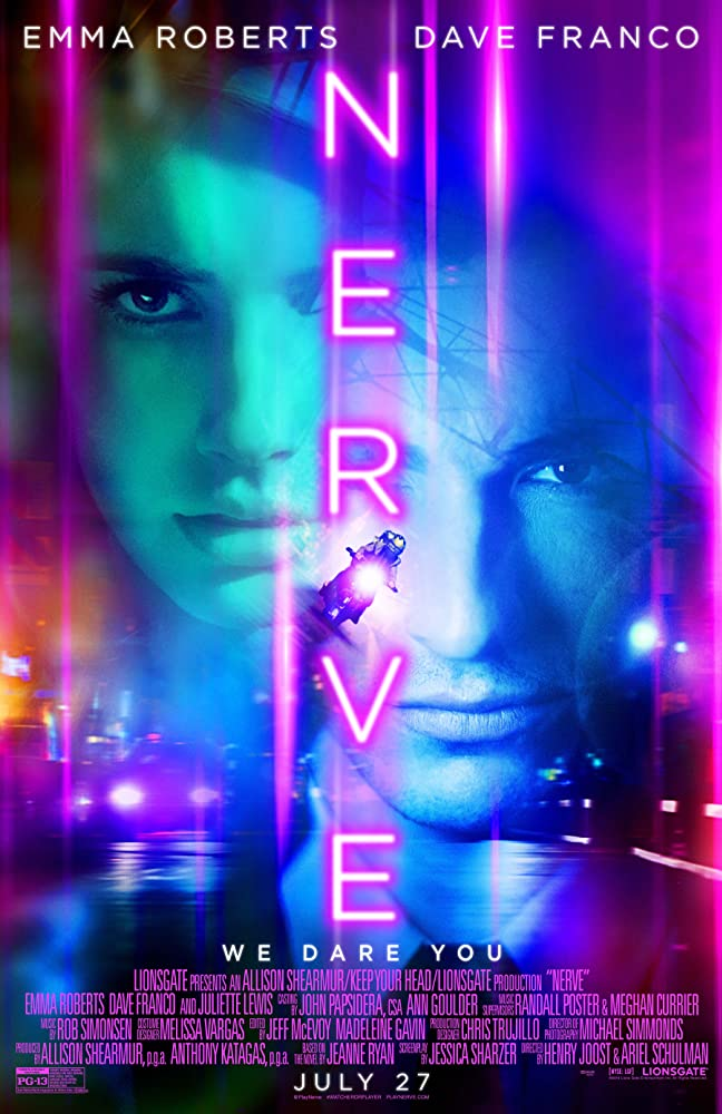 Nerve 2016 720p BRRip Eng Watch Online Free Download